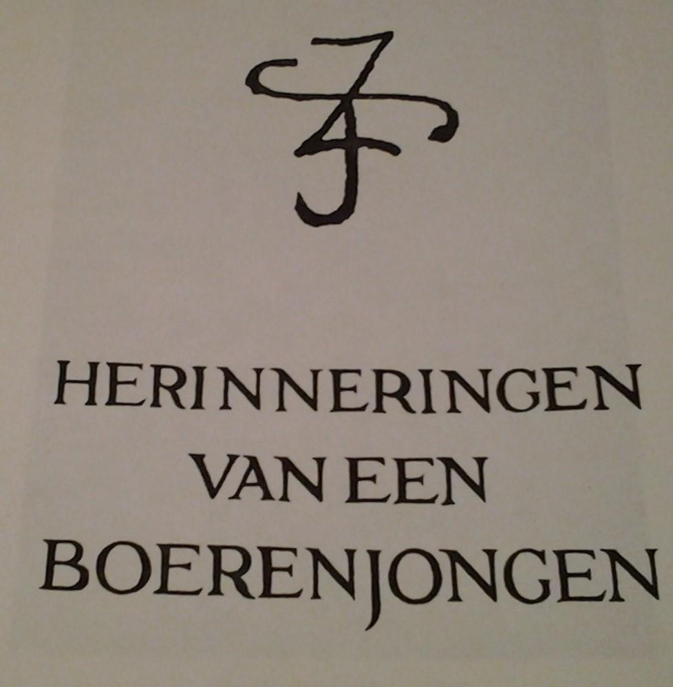 Informatie langs Jac Jongert route - Historisch ...